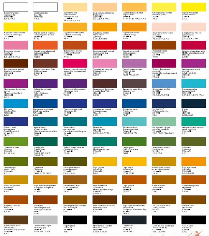 Как получить нужный цвет? Всё самое 7